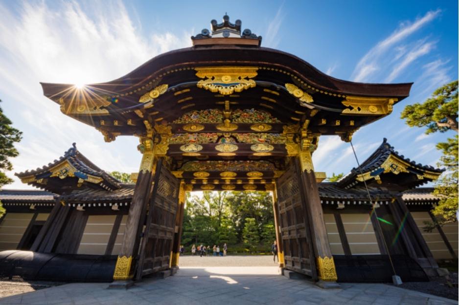 Nijo Kalesi, Japonya
