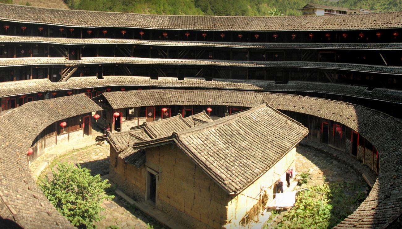 Tulou Konutları, Çin