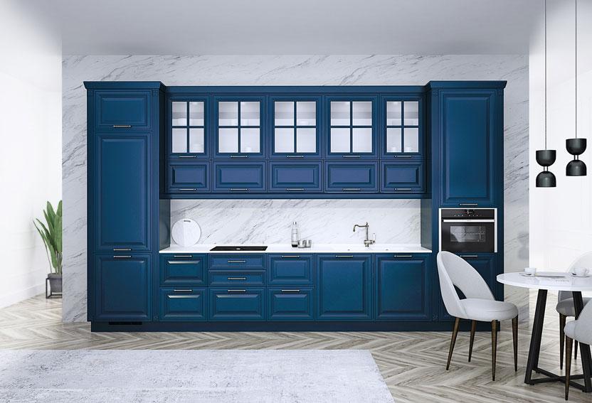 mavi mutfak