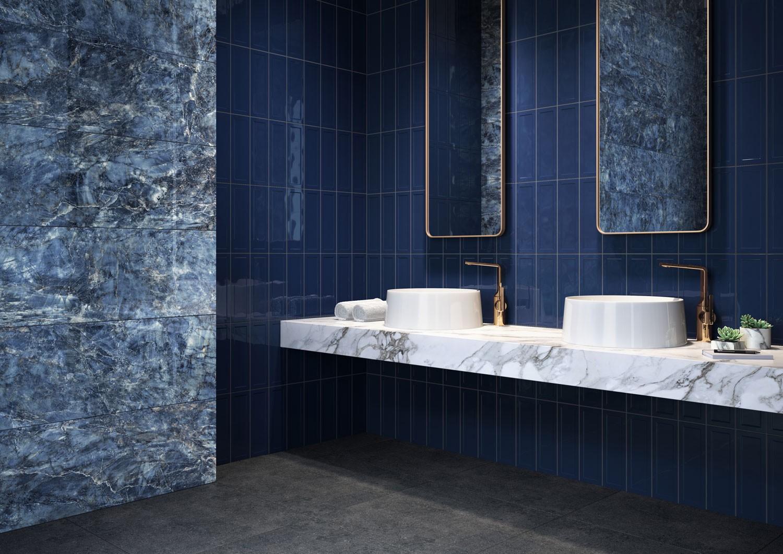 mavi lavabo