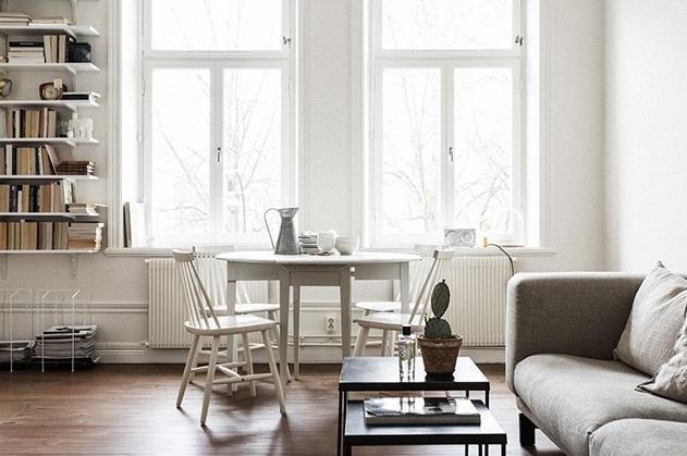 iskandinav tarz pencere