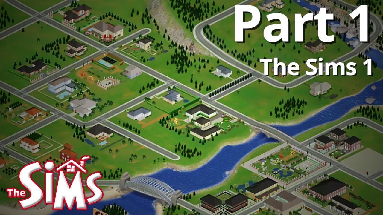 sims 1 village